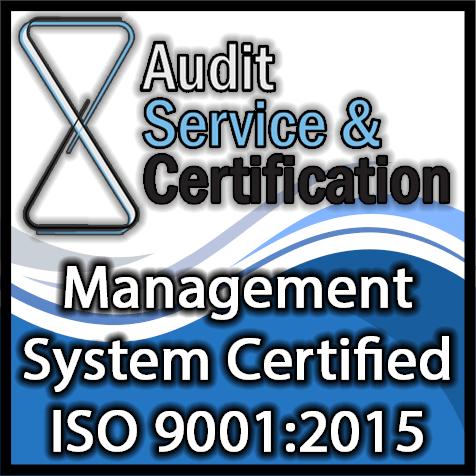 Certificato 9001.2015
